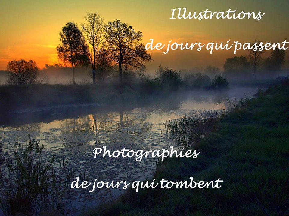 Illustrations de jours qui passent Photographies de jours qui tombent