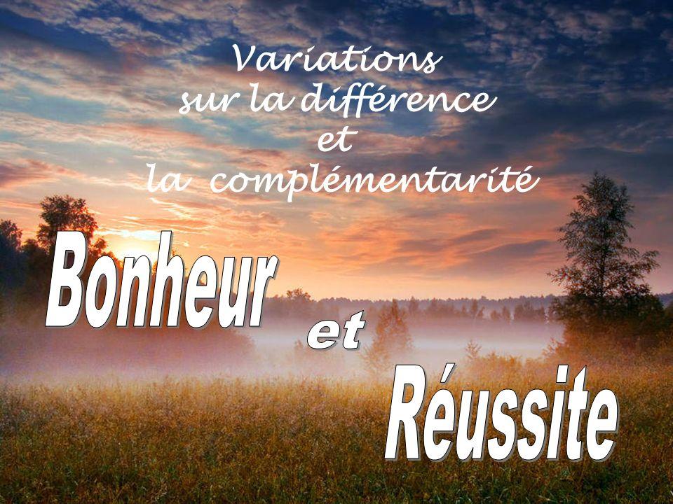 Variations sur la différence et la complémentarité