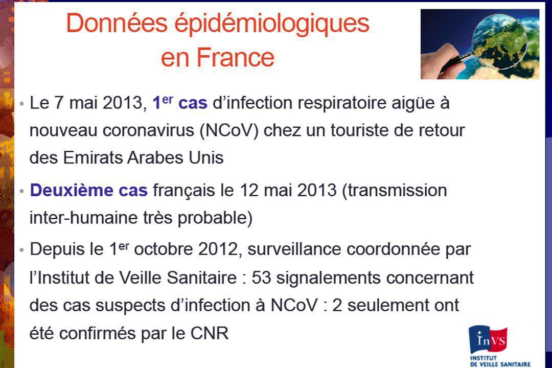Klebsiella pneumoniae et résistance aux carbapénèmes 2010 2011 France 0,2% Italie 15,2% Grèce 49,1% Grèce 68% Italie 26,7% France 0 %