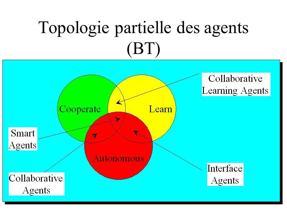 Topologie partielle des agents (BT)