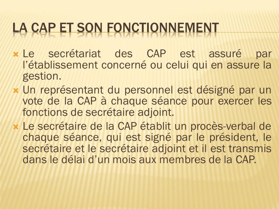 Lordre du jour est fixé par le président au vu des propositions du directeur de létablissement pour la CAP locale et de chaque directeur détablissement concerné pour la CAP départementale.
