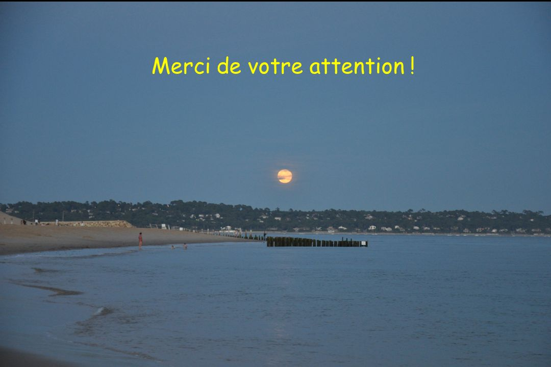 Thank you for your kind attention Merci de votre attention !
