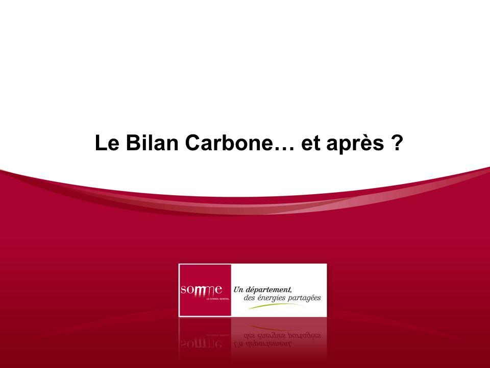 Le Bilan Carbone… et après ?