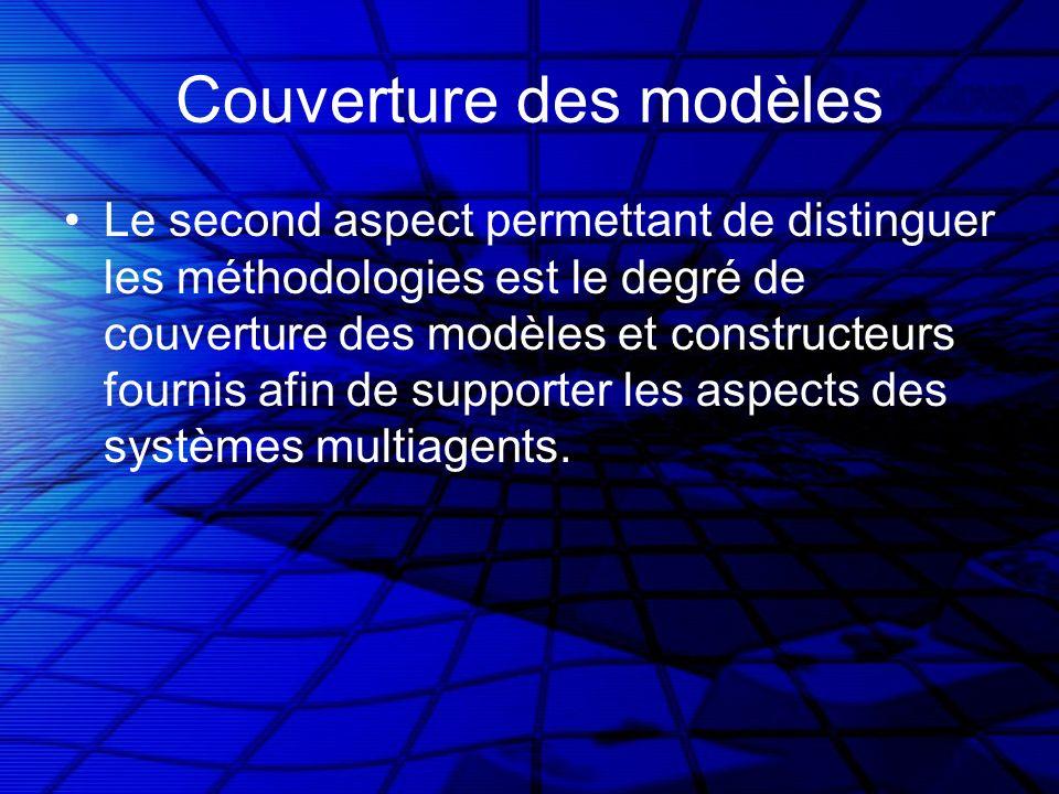 Couverture des modèles Le second aspect permettant de distinguer les méthodologies est le degré de couverture des modèles et constructeurs fournis afi