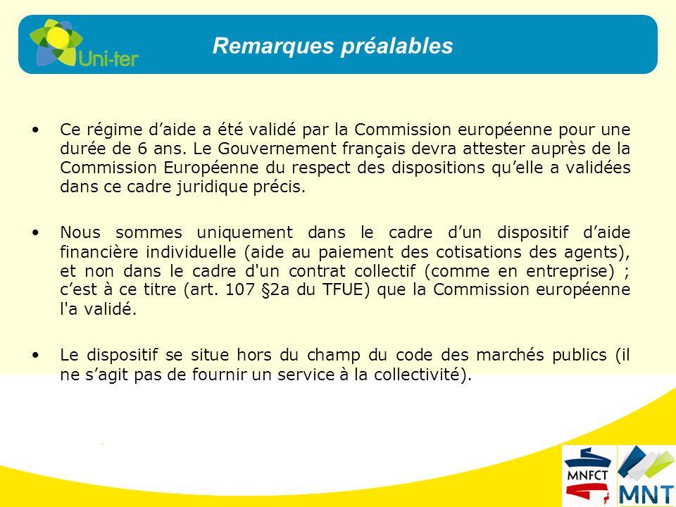 Ce régime daide a été validé par la Commission européenne pour une durée de 6 ans. Le Gouvernement français devra attester auprès de la Commission Eur