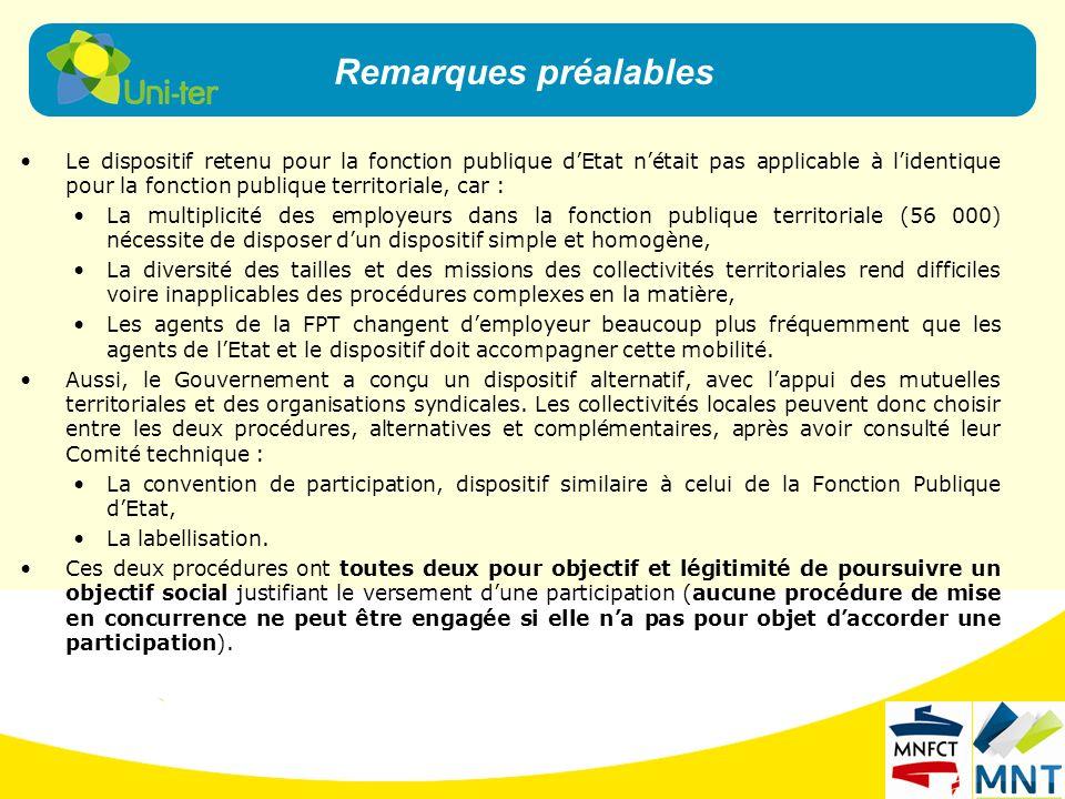 Le dispositif retenu pour la fonction publique dEtat nétait pas applicable à lidentique pour la fonction publique territoriale, car : La multiplicité