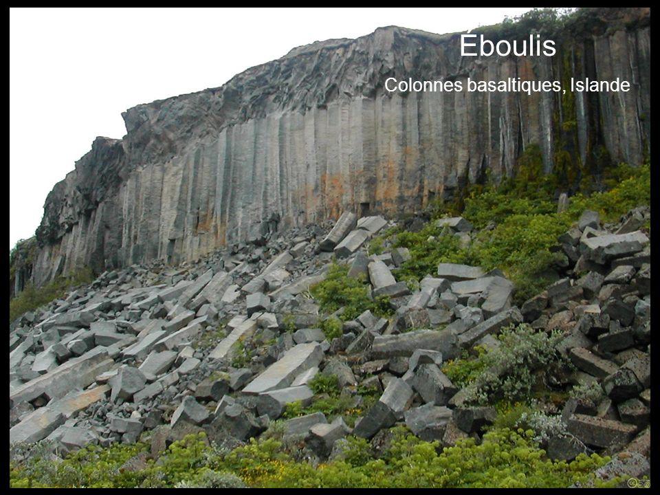 Éboulis Colonnes basaltiques, Islande