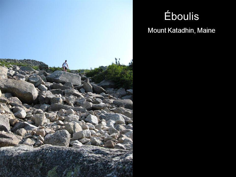 Éboulis Mount Katadhin, Maine