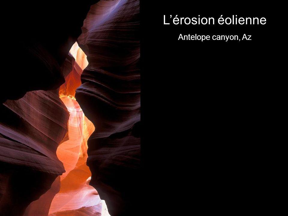 Lérosion éolienne Antelope canyon, Az