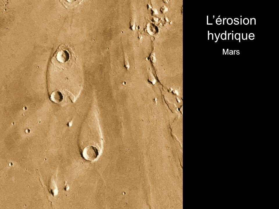 Lérosion hydrique Mars