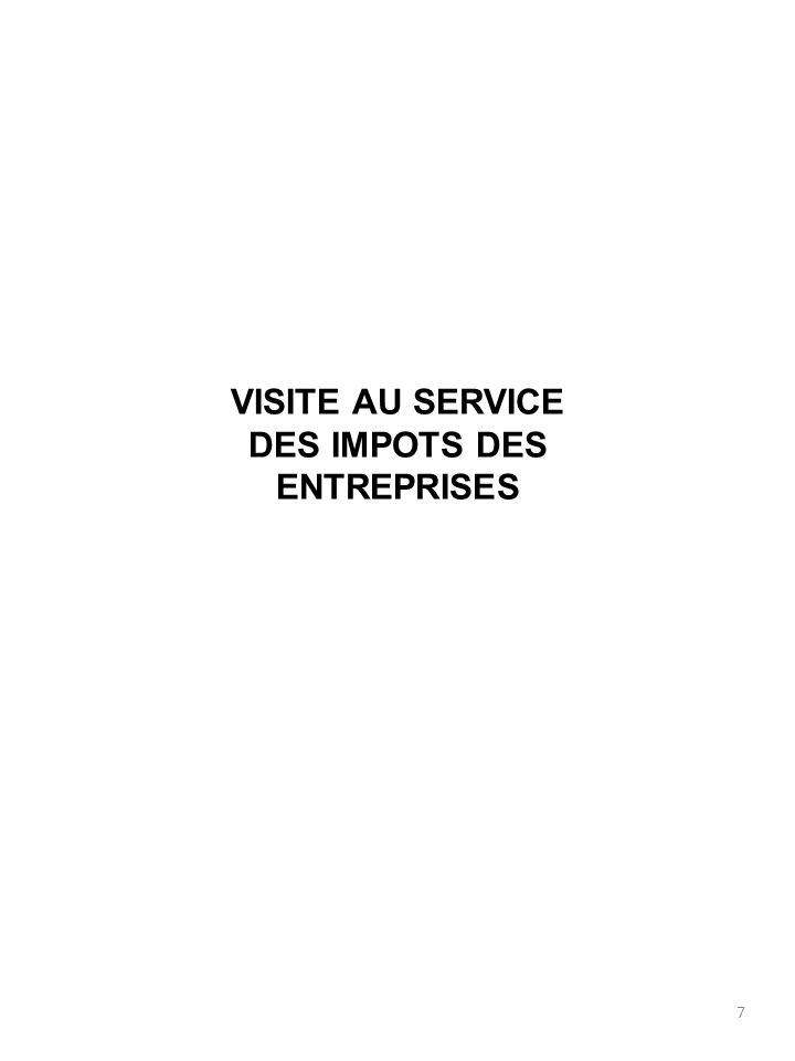 8 SIE-C ou SIE SIE-C : service des impôts des entreprises – centralisateur ; service central des SIE de la DSF (anciennement recette divisionnaire), encadré par un receveur divisionnaire (grade équivalent à un DSF).