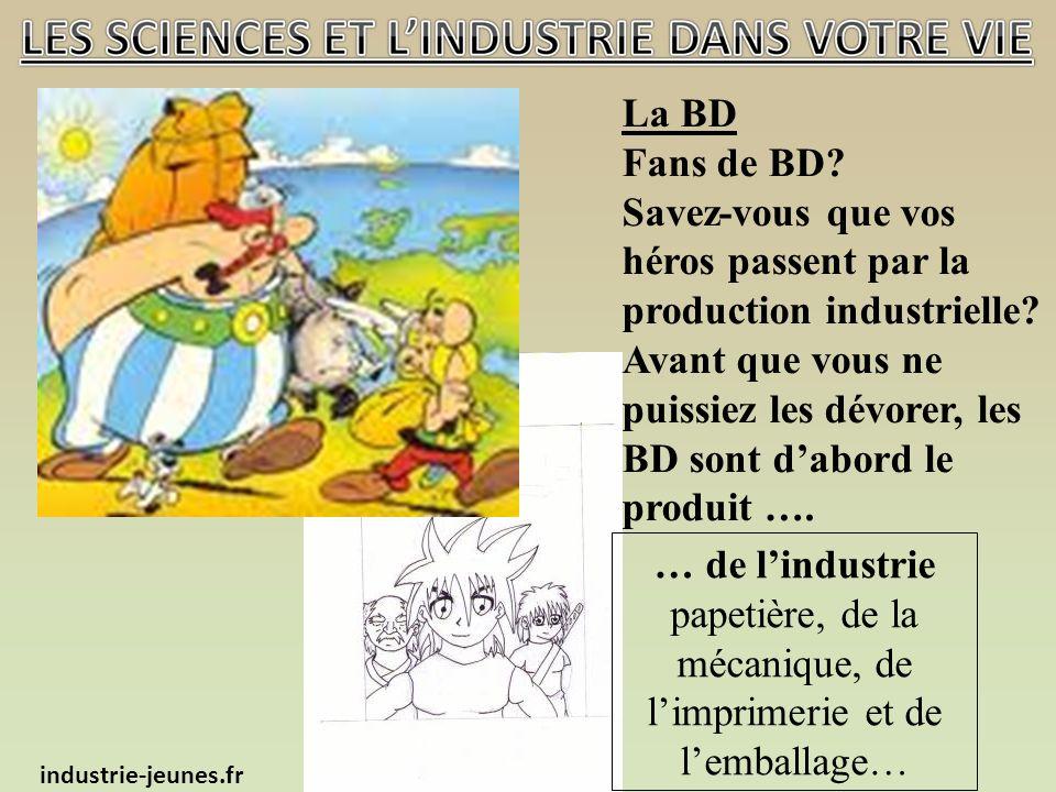 La BD Fans de BD. Savez-vous que vos héros passent par la production industrielle.