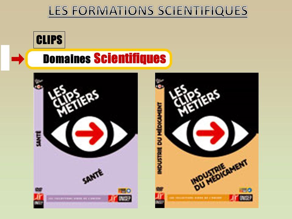 Domaines Scientifiques CLIPS