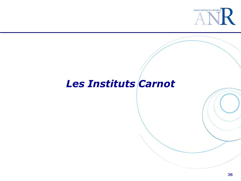 36 Les Instituts Carnot
