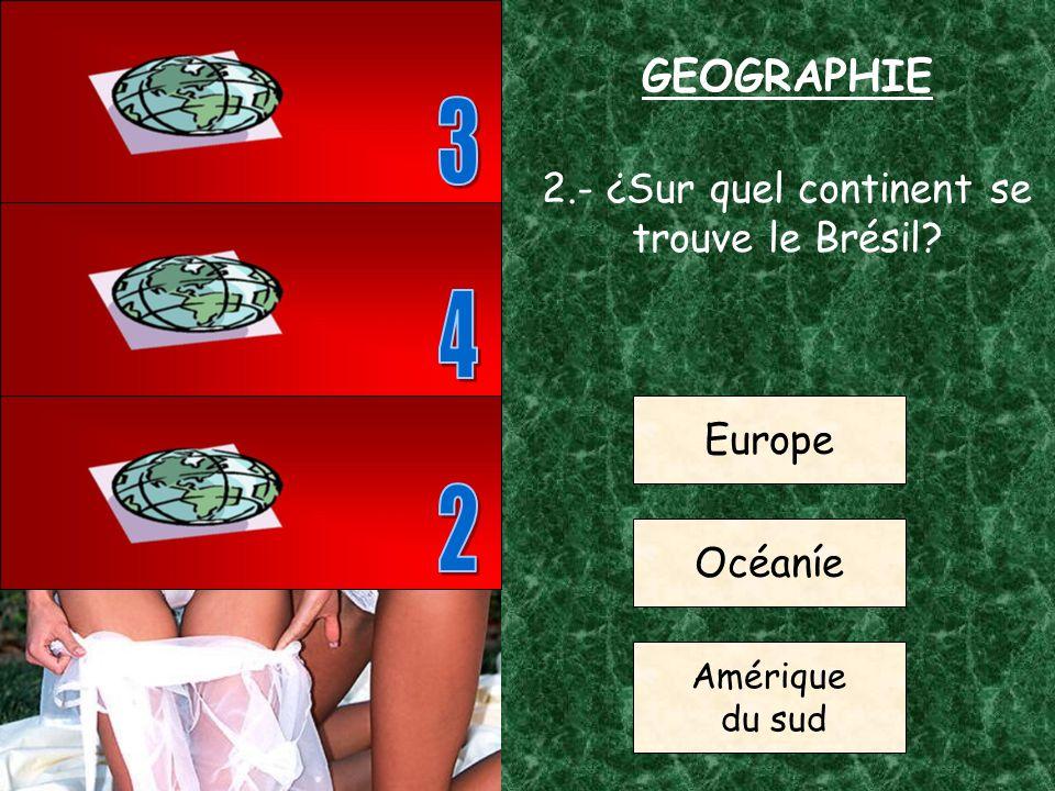 1.- ¿Quel est la capitale de la France? Londres Paris Rome