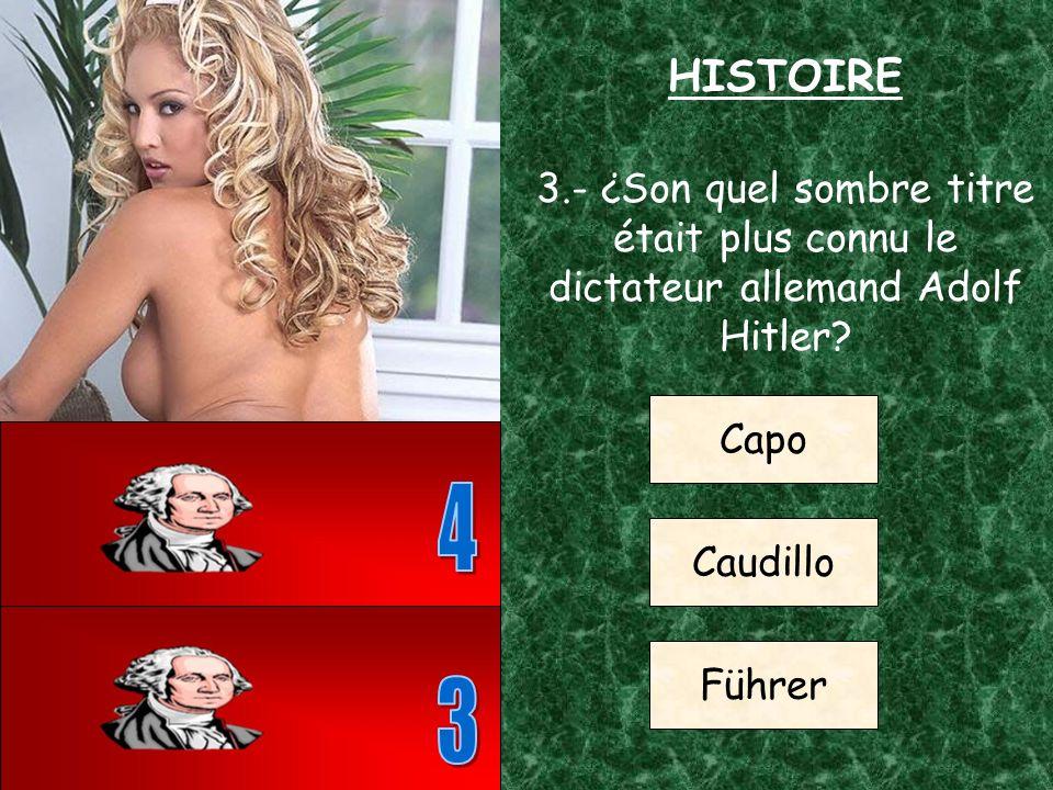 2.- ¿Dans quel pays eu lieu la bataille de Trafalgar? Espagne Grèce Norvège HISTOIRE