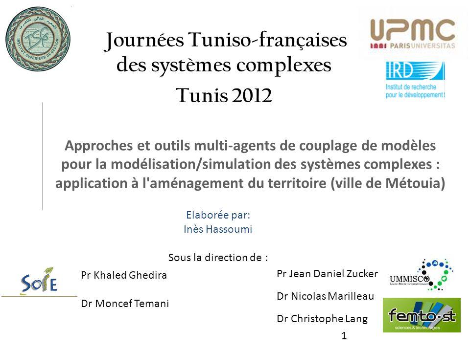 1 Approches et outils multi-agents de couplage de modèles pour la modélisation/simulation des systèmes complexes : application à l'aménagement du terr