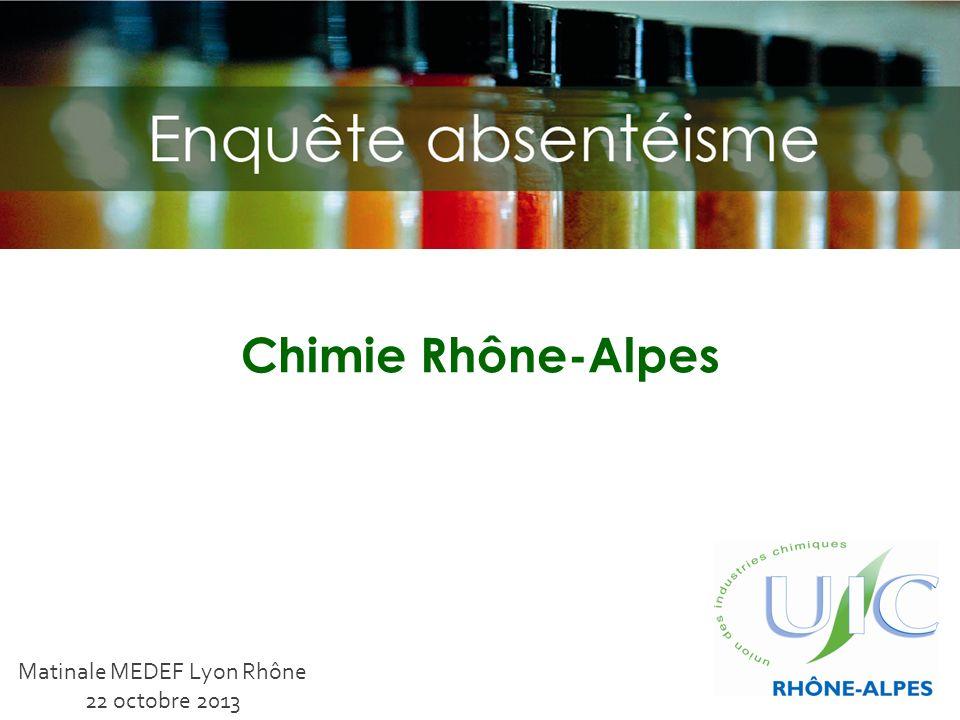 Chimie Rhône-Alpes Matinale MEDEF Lyon Rhône 22 octobre 2013