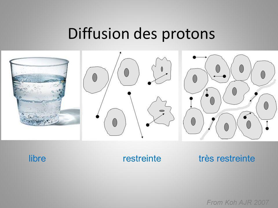 Diffusion des protons From Koh AJR 2007 librerestreintetrès restreinte