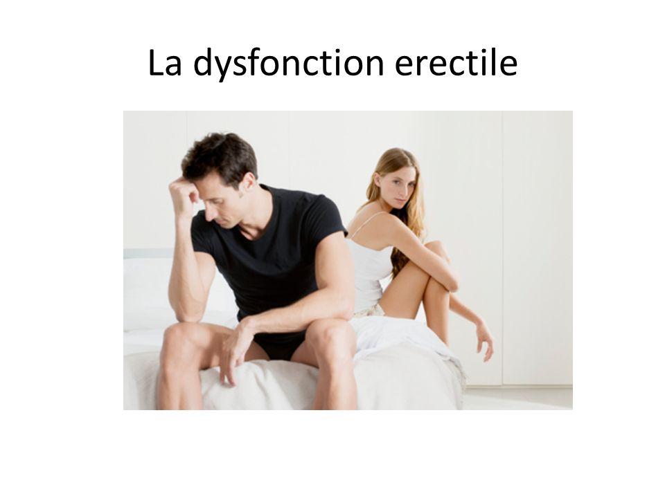 Épidémiologie La dysfonction erectile (DE) nest pas considéré comme faisant partie du vieillissement normal.