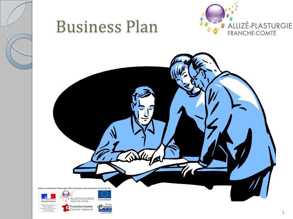 Etape : FORMALISATION 22 Business Plan – Feuille de route