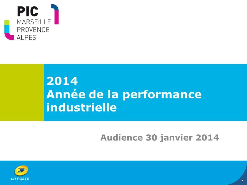 2014 Année de la performance industrielle Audience 30 janvier 2014 1