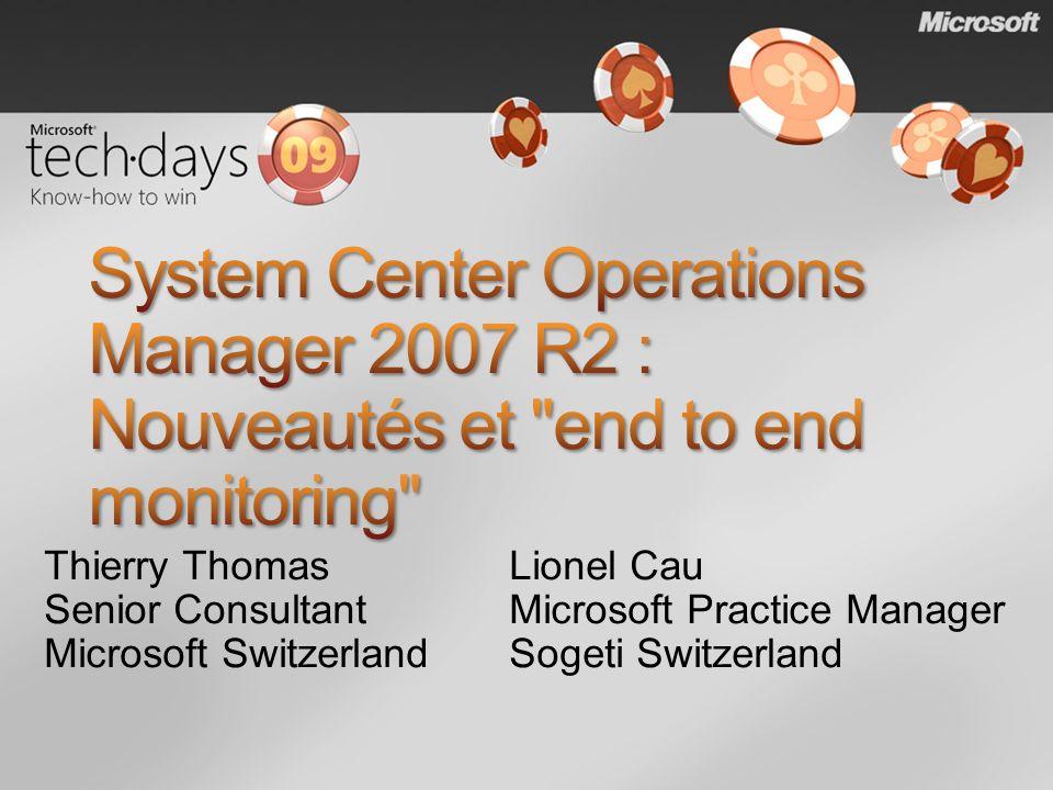 Thierry Thomas Senior Consultant Microsoft Switzerland Lionel Cau Microsoft Practice Manager Sogeti Switzerland