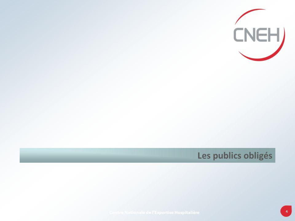 4 Centre Nationale de lExpertise Hospitalière Les publics obligés