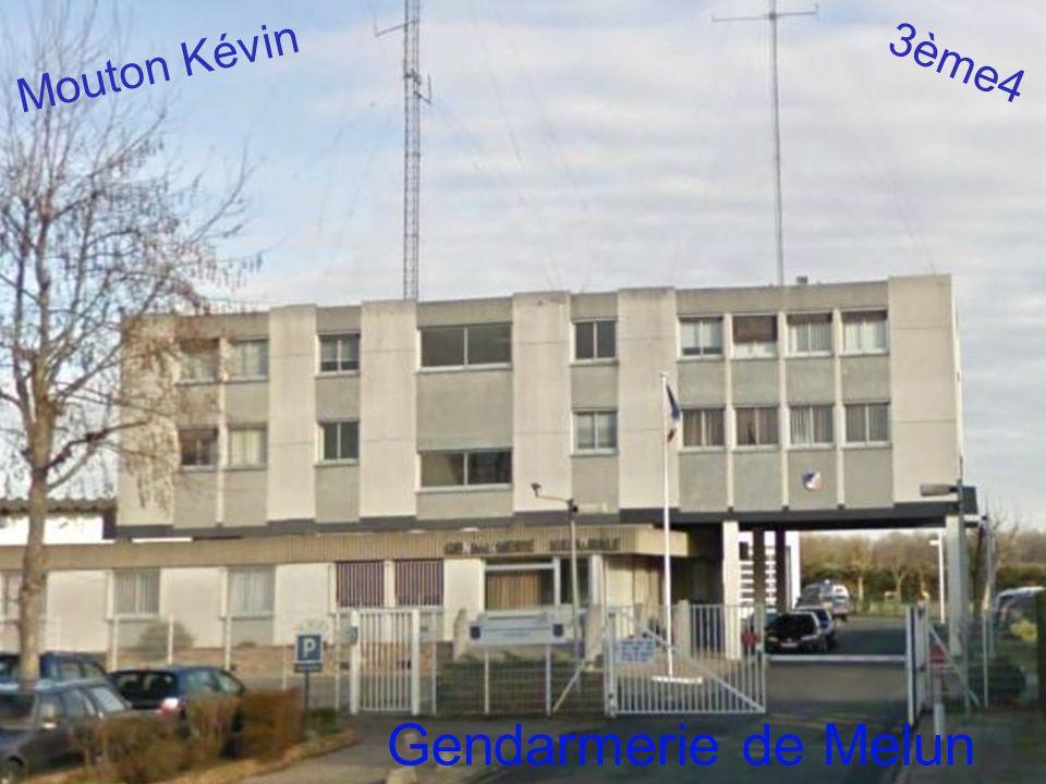 Mouton Kévin 3ème4 Gendarmerie de Melun