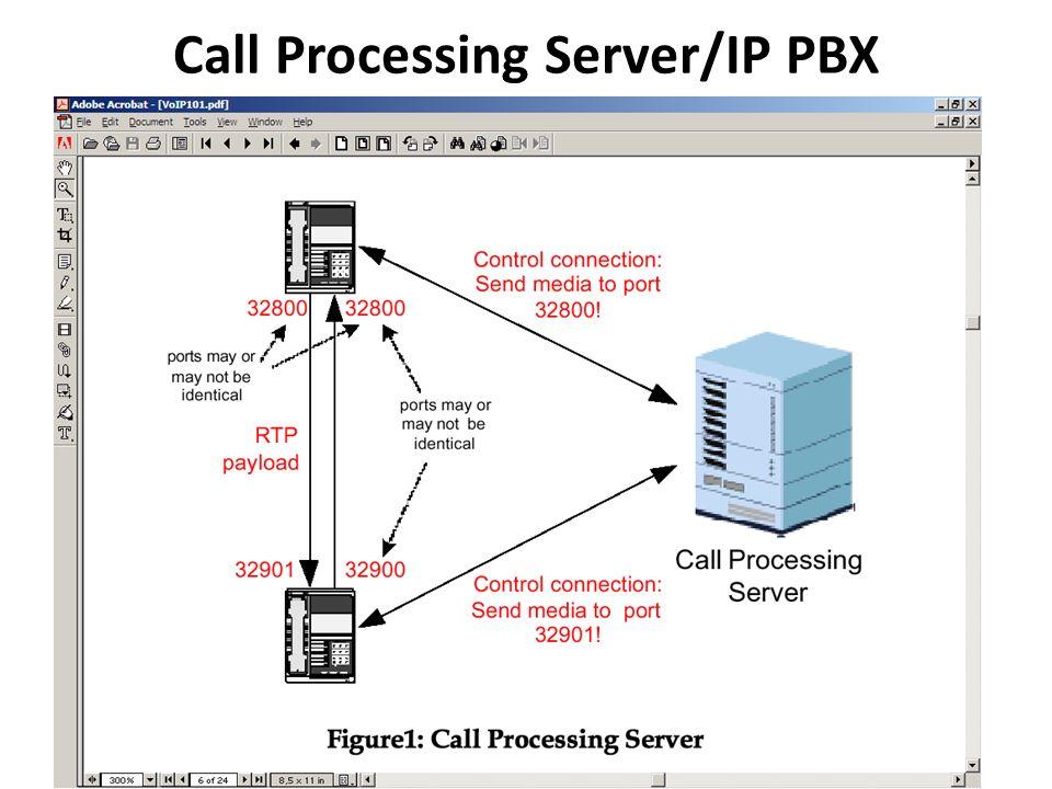 Call Processing Server/IP PBX
