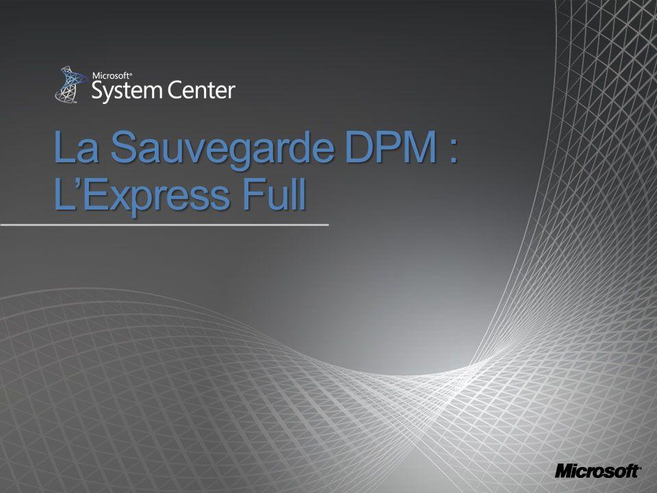 La Sauvegarde DPM : LExpress Full
