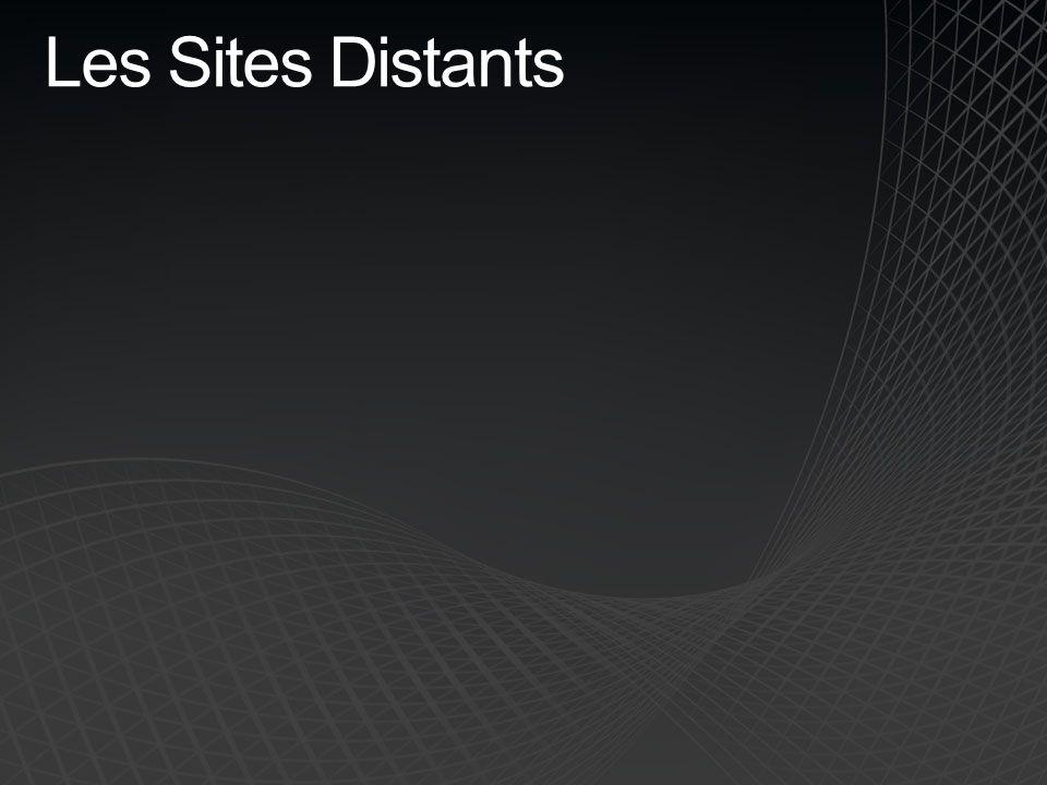 Les Sites Distants