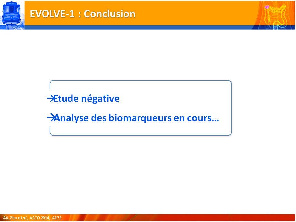 EVOLVE-1 : Conclusion AX.