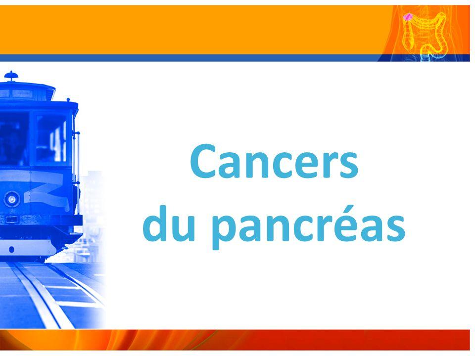 Cancers du pancréas