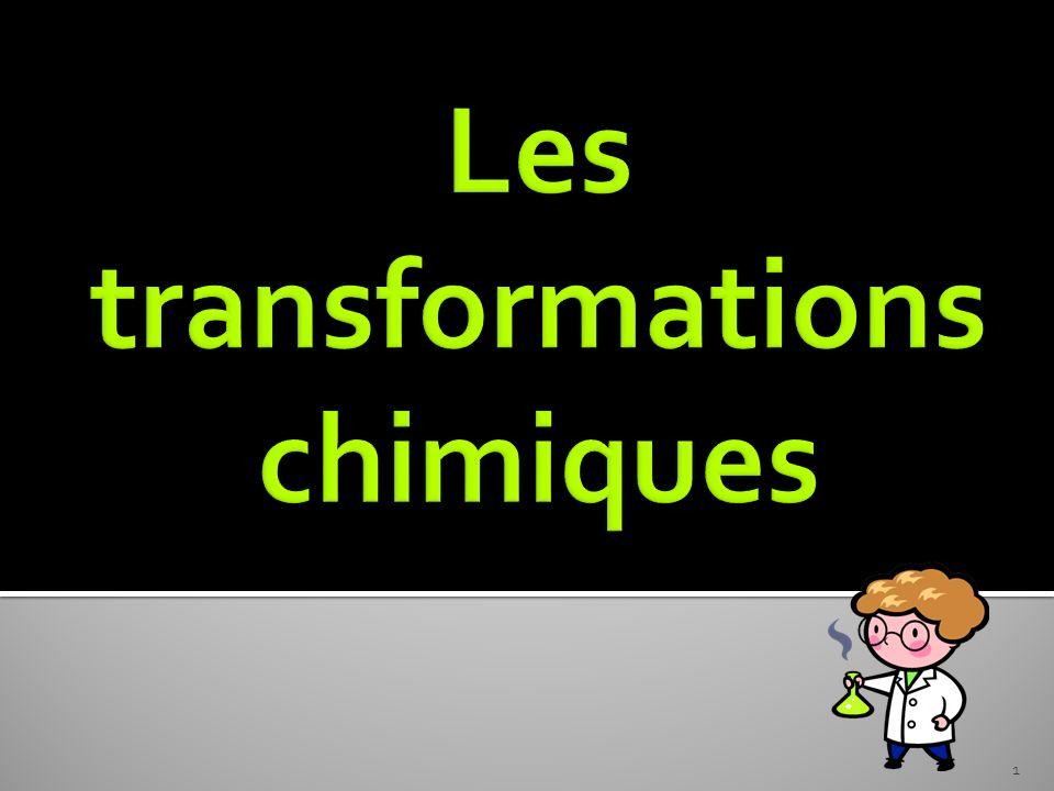 Les transformations physiques Les transformations chimiques Les transformations nucléaires Les transformations physiques Les transformations chimiques Les transformations nucléaires 2