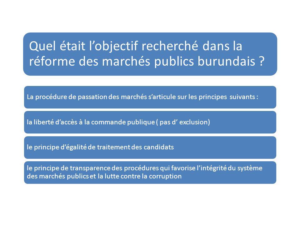 LEtat du Burundi constate quil y a des avancées significatives.