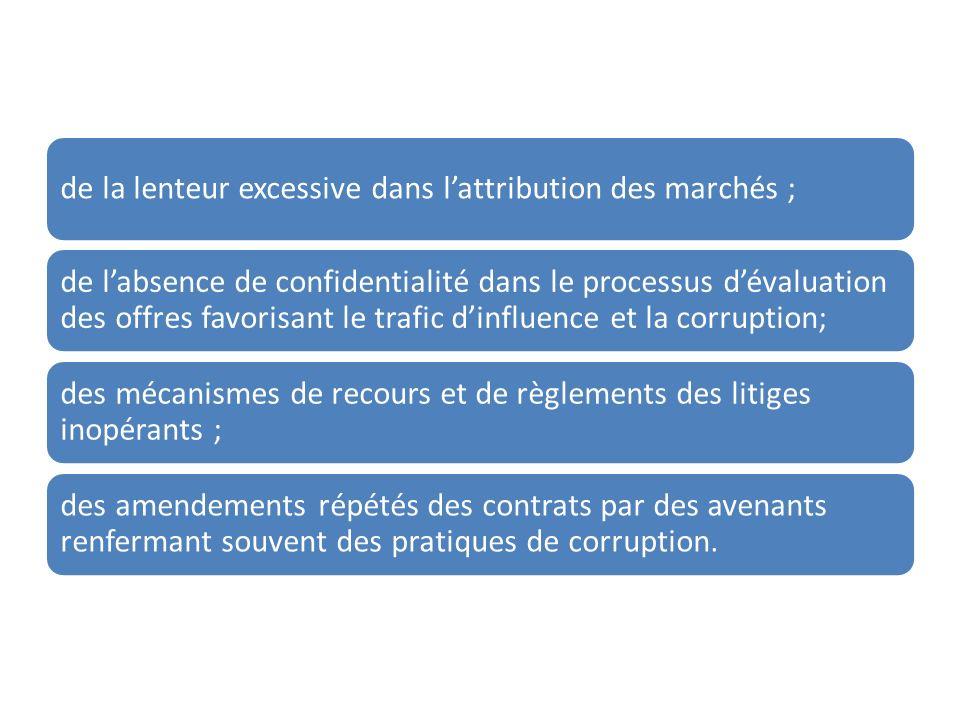 Pour faire fasse à ces faiblesses le Gouvernement du Burundi a initié des réformes profondes du secteur des marchés publics qui ont abouti à la mise en place du nouveau code des marchés publics avec de nombreuses innovations qui favorise le libre accès à la commande publique.