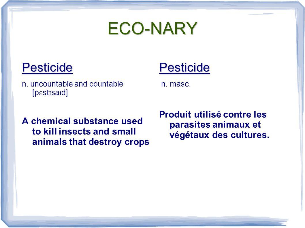 ECO-NARY Pollinate v.