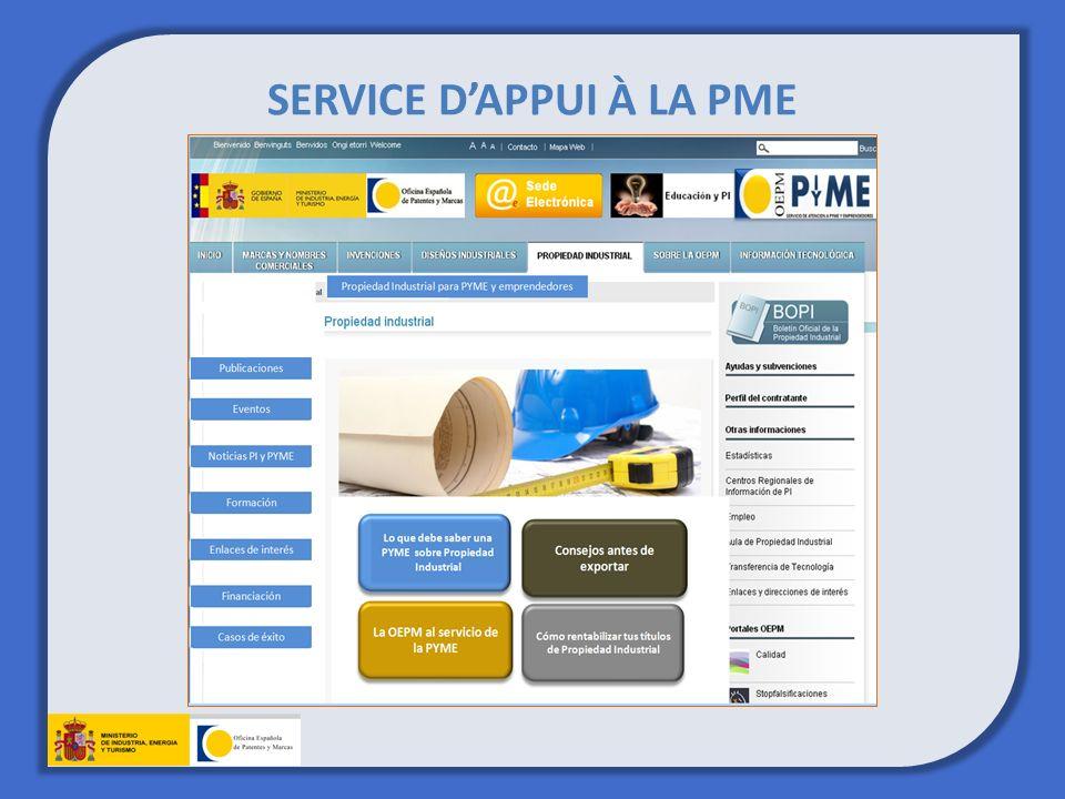 SERVICE DAPPUI À LA PME