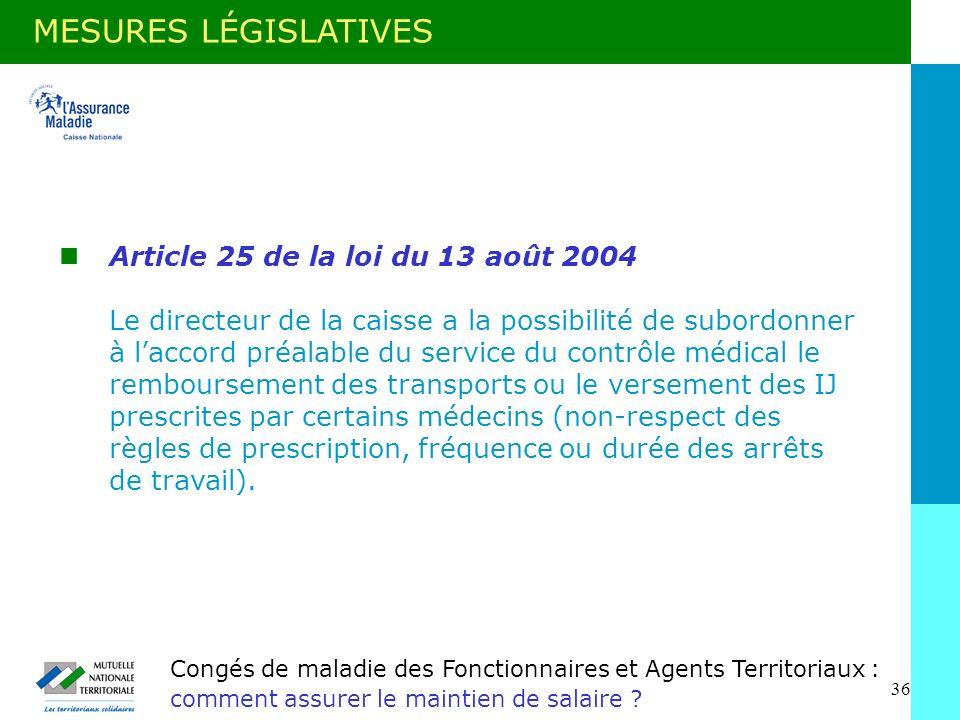 36 Congés de maladie des Fonctionnaires et Agents Territoriaux : comment assurer le maintien de salaire .