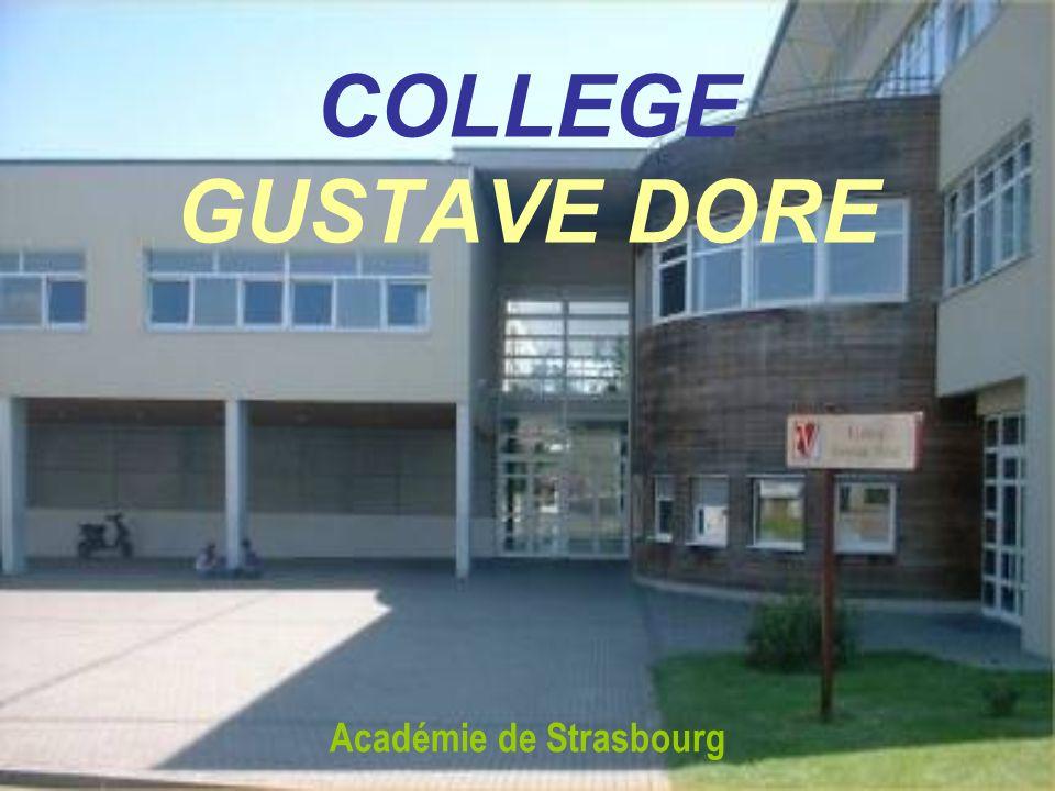 COLLEGE GUSTAVE DORE Académie de Strasbourg