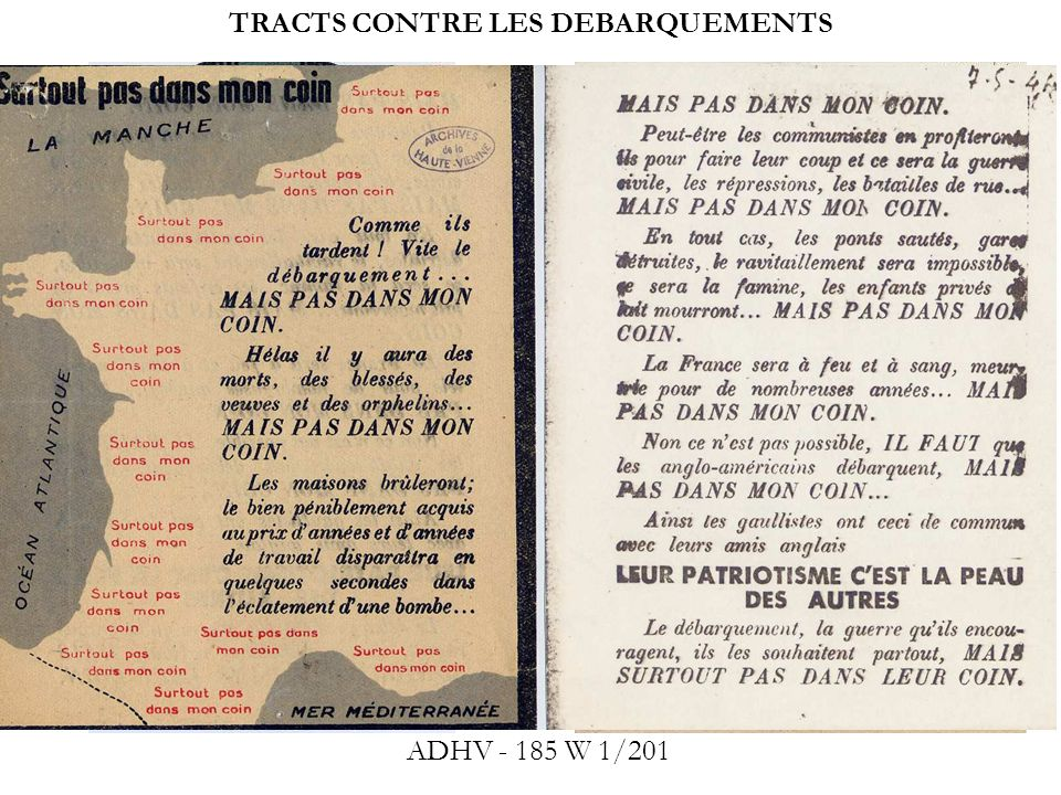 ATTAQUES CONTRE LE MAQUIS 2 Fi 672 : Près de Blond, dépôt darmes détruit par les Allemands, 1944 2 Fi 673 : Fermes et dépôt de munitions de lArmée secrète détruits par une colonne allemande, Blond, 1944 RETOUR