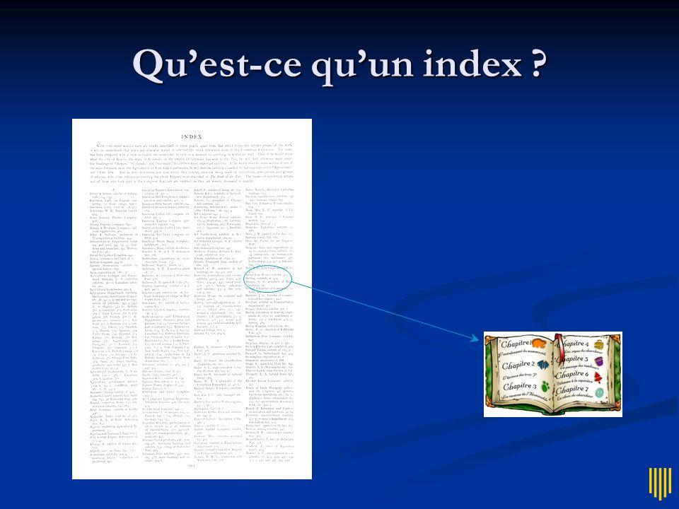 Moteurs Indexent le Web Indexent le Web Permettent de poser des reqûetes Permettent de poser des reqûetes