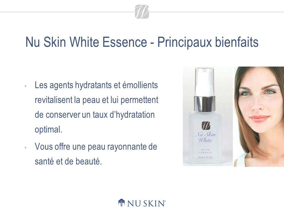 Nu Skin White Essence - Conseils dutilisation Appliquez deux fois par jour sur le visage et le cou.