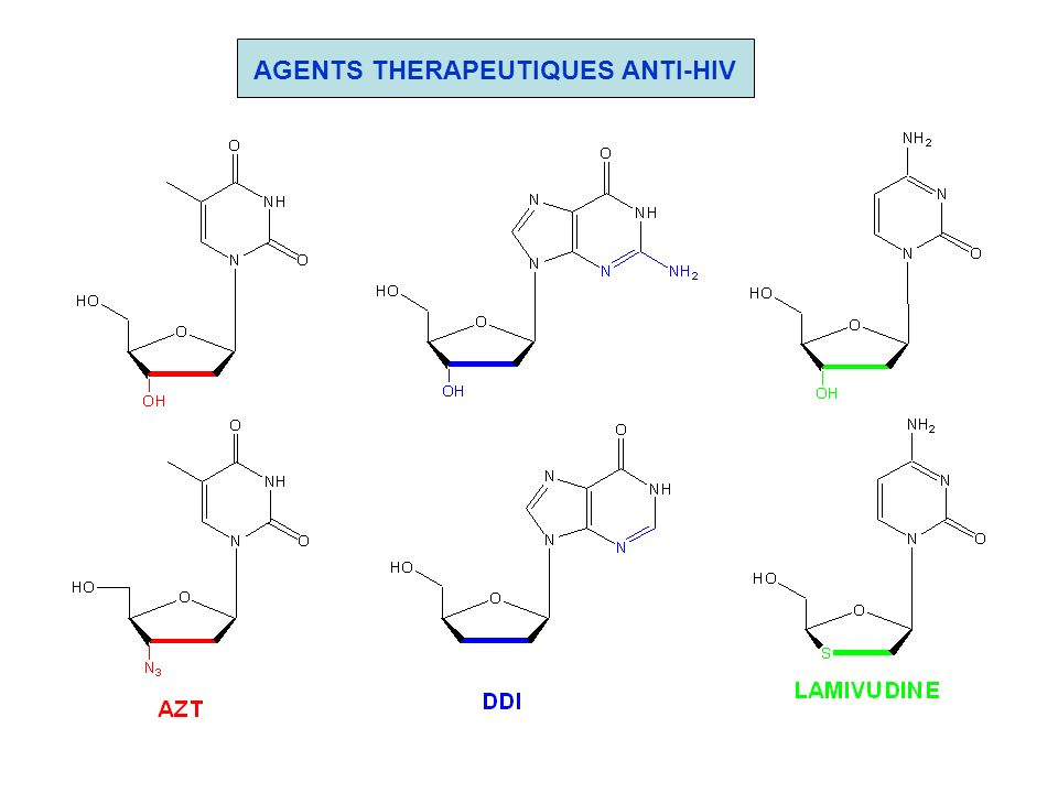 AGENTS THERAPEUTIQUES ANTI-HIV