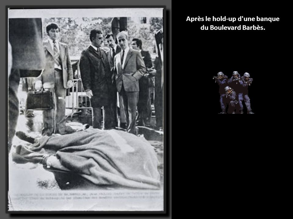 Photographie, prise sur le vif, de René-Georges Querry, patron de l'Antigang jusqu'en 1990.