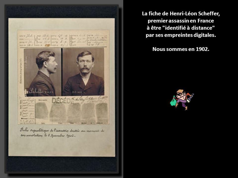 Les archives de la police en images Un ancien patron de la police judiciaire de Paris sort une version illustrée de l'histoire du