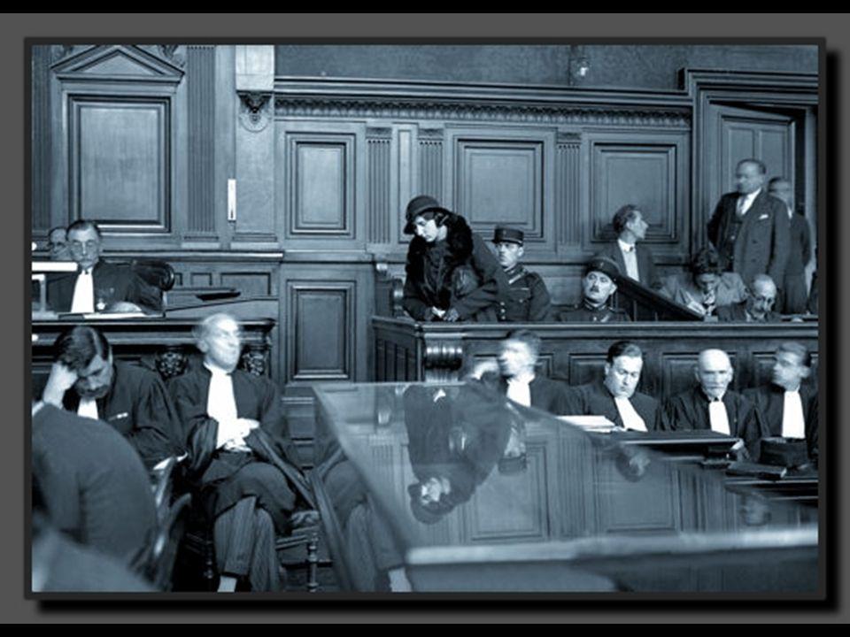 Dans les années 1930, le commissaire Guillaume est une figure marquante de la PJ. C'est lui qui a mené l'interrogatoire de Violette Nozière (photo). S