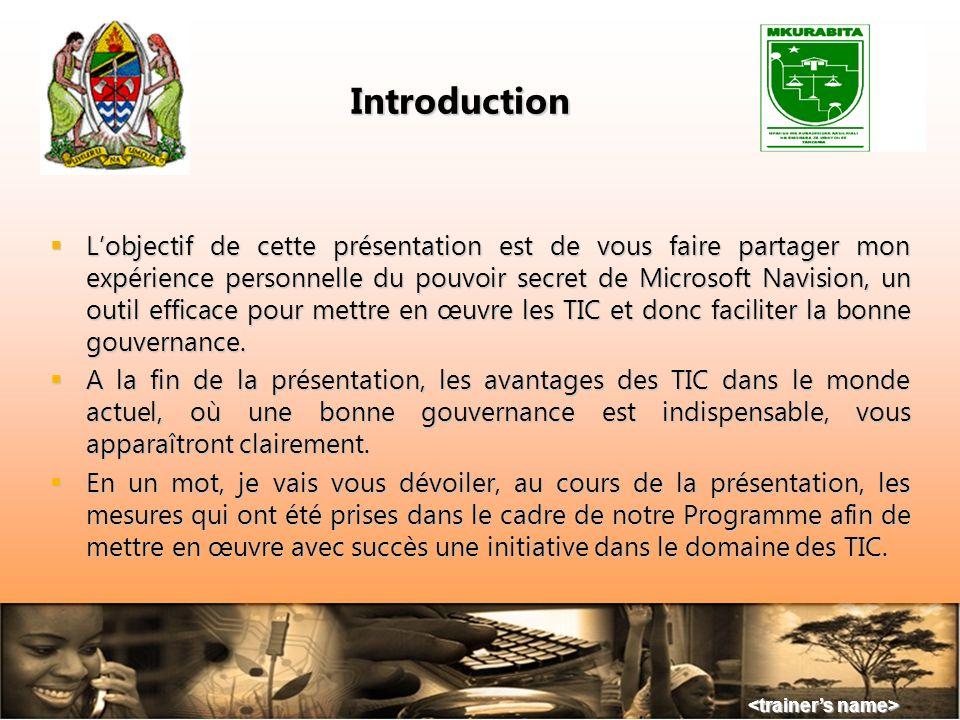 TABLE DES MATIÈRES Introduction Introduction Origines du projet Origines du projet Quentend-on par « bonne gouvernance » ? Quentend-on par « bonne gou