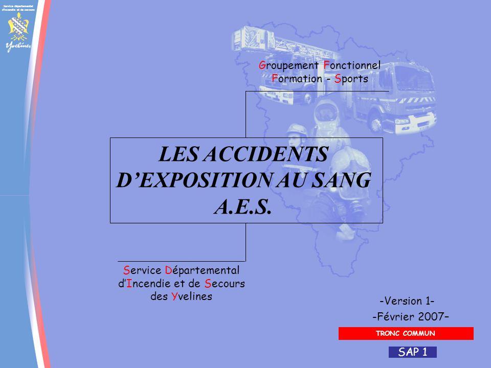 Service départemental d'incendie et de secours Groupement Fonctionnel Formation - Sports Service Départemental dIncendie et de Secours des Yvelines -F